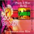 Soca xplosion pack 2 construction kits