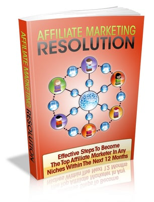 Product picture Affiliate Marketing Resolution