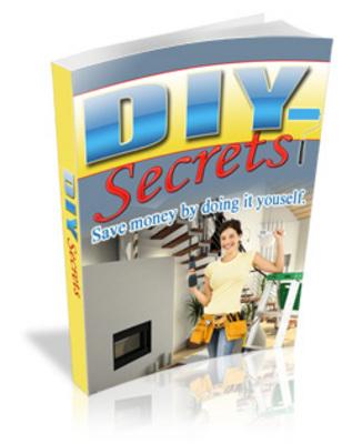 Product picture DIY Secrets