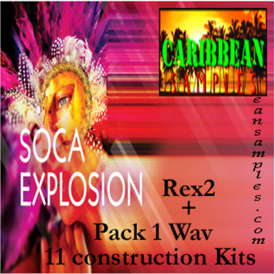 Product picture Soca xplosion pack 1 construction kits