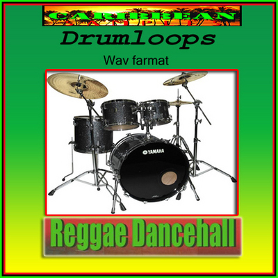 Product picture Reggae-Dancehall-Drumloops